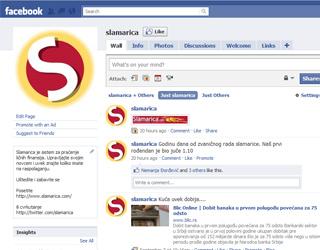Slamarica Facebook