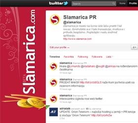 Slamarica Twitter